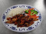 Hot and Spicy Chicken Teriyaki
